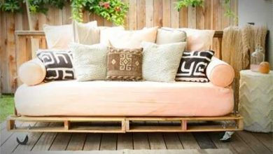 Photo of Muebles de pallets para utilizar tu hogar con ideas de decoración